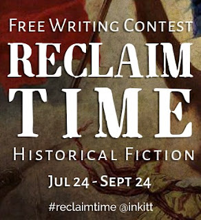 Reclaim Time writing contest banner