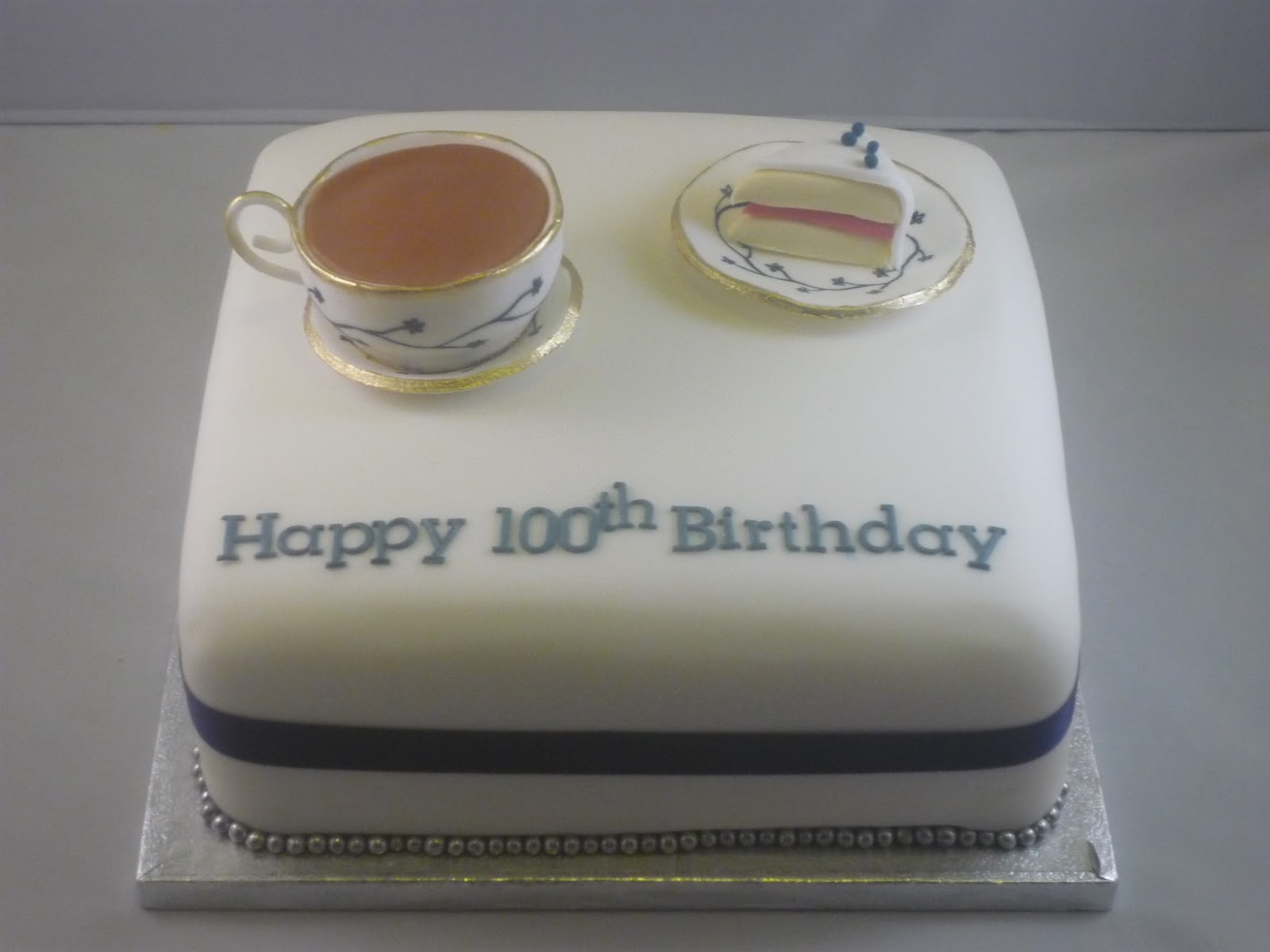 Eat Cakes By Susan 100th Birthday Cake