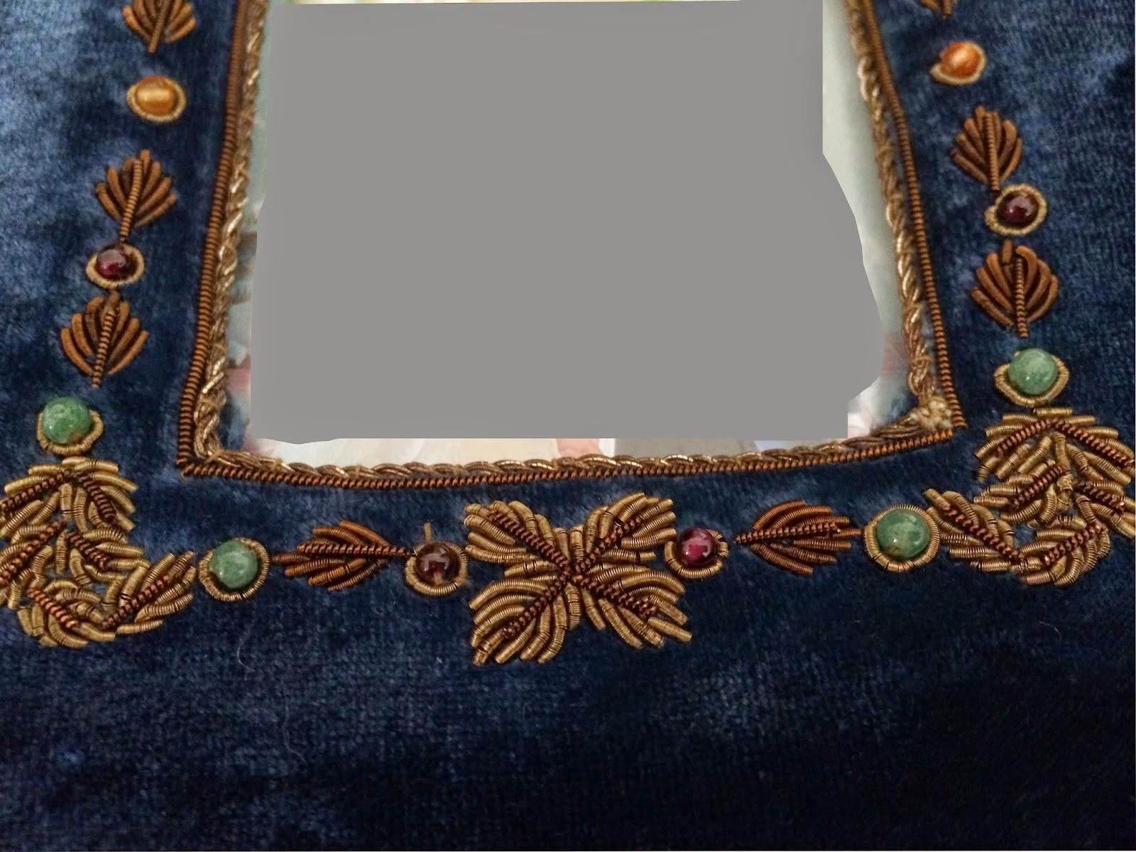 Peonies and Orange Blossoms: Antique Velvet Picture Frames