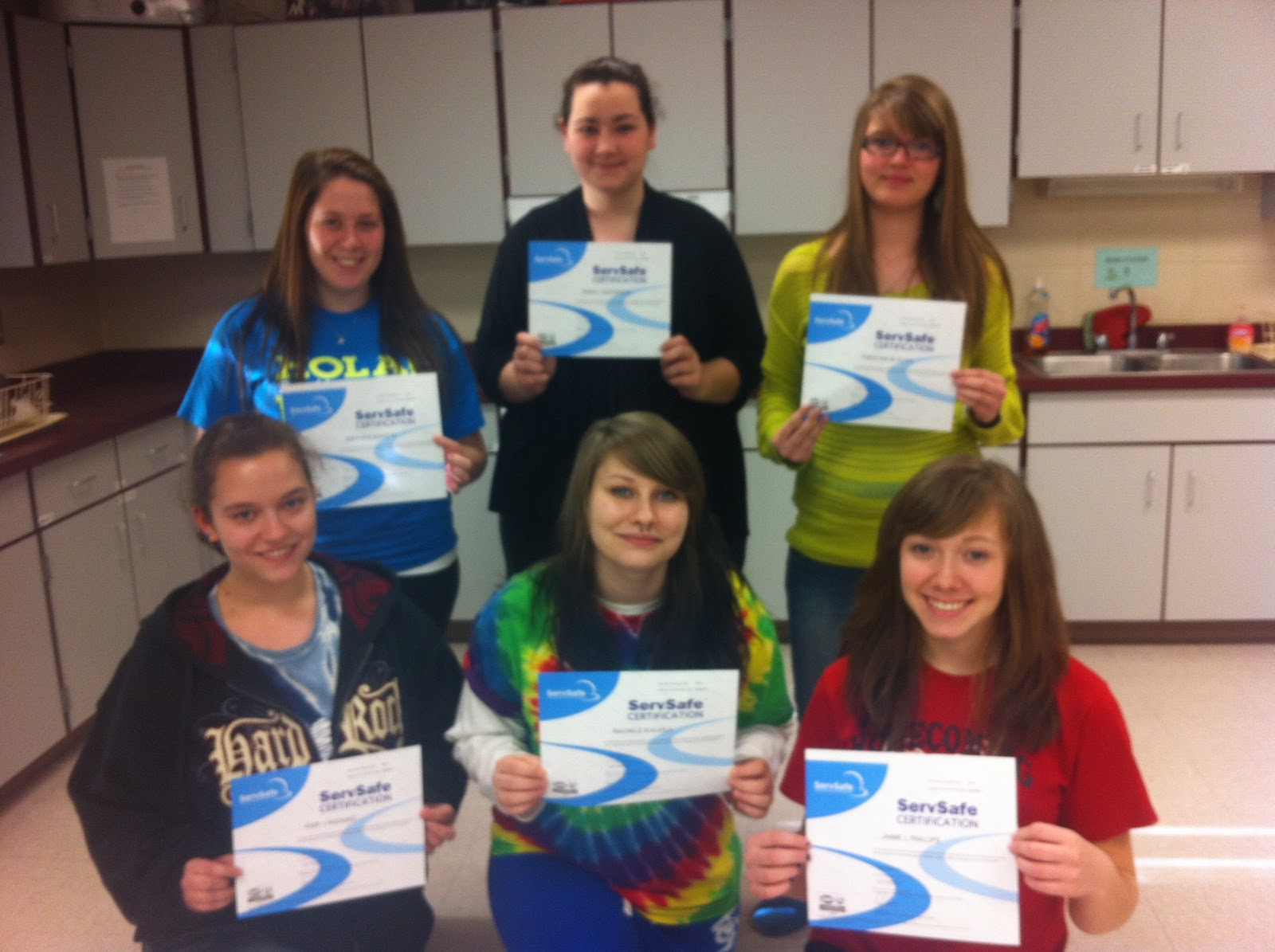 The bulletin board record number of cte students earn servsafe record number of cte students earn servsafe food safety certification xflitez Image collections