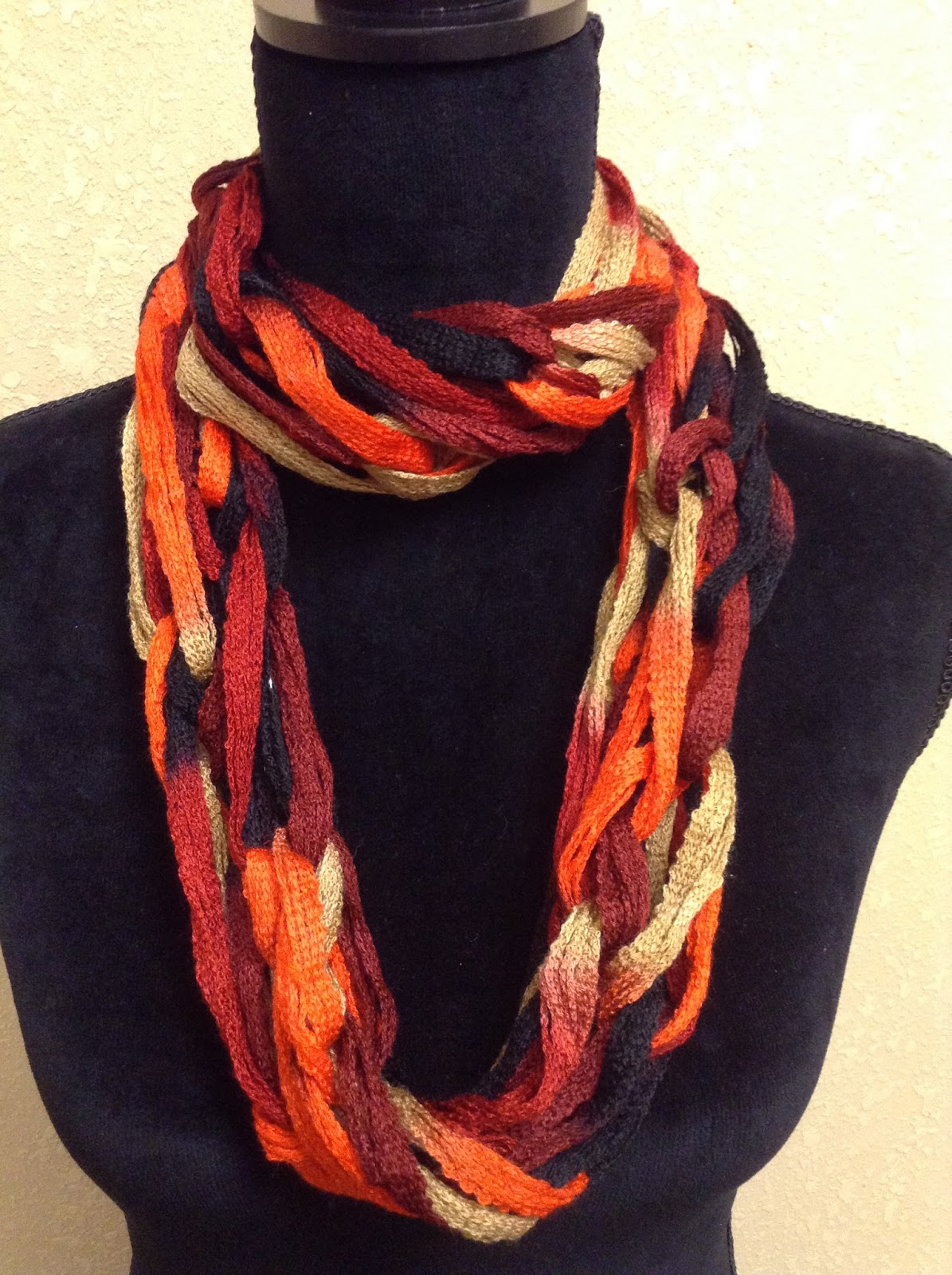 Knitting With Arms Scarf : Craft warehouse