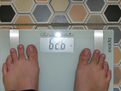 Berat badan turun lagi, wow! memang diet yang sangat menjadi .....