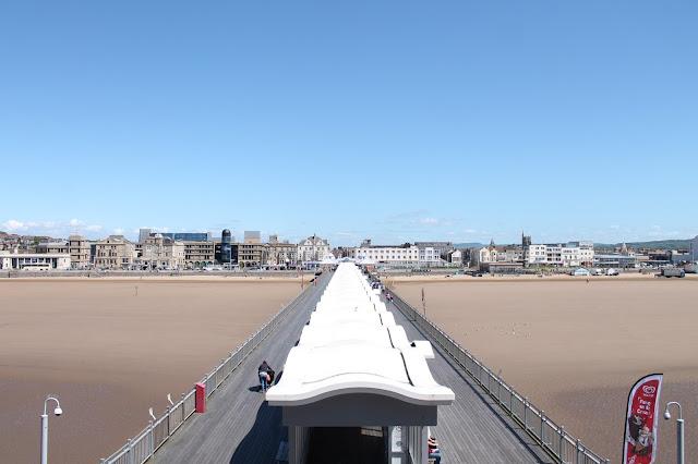 View from Weston Super Mare Grand Pier