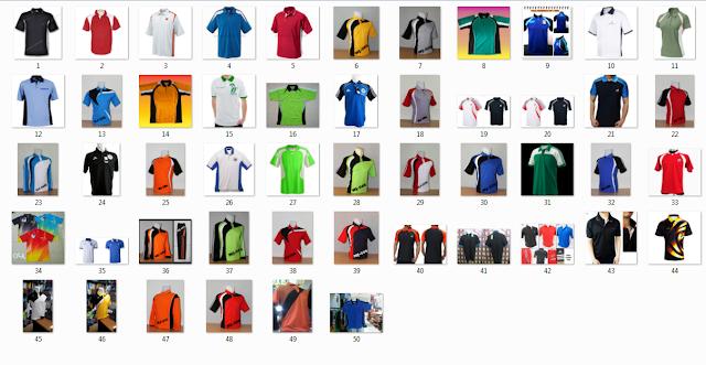 50 Model Design Kaos Olahraga Kerah hermanbaguz