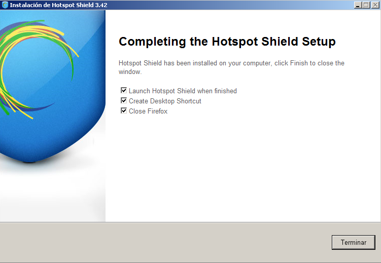 Manual de Hotspot Shield