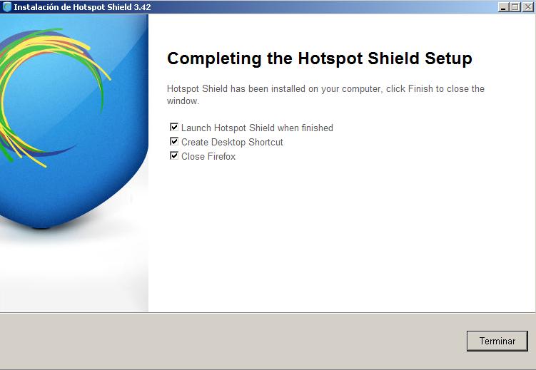 Manual de Hotspot Shield
