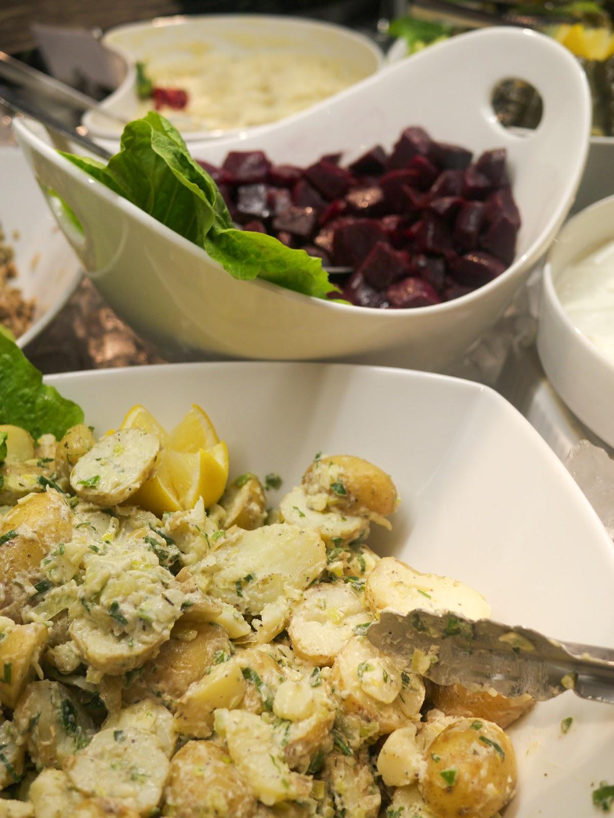 Rodizio Lebanon restaurant Fulham potato salad