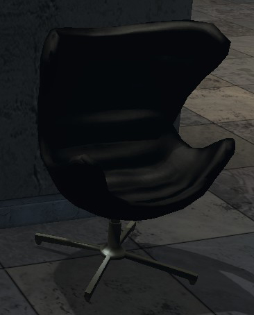 Black Luxurious Chair
