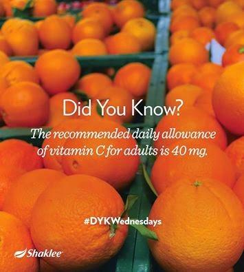 ketahui keperluan dan manfaat vitamin C