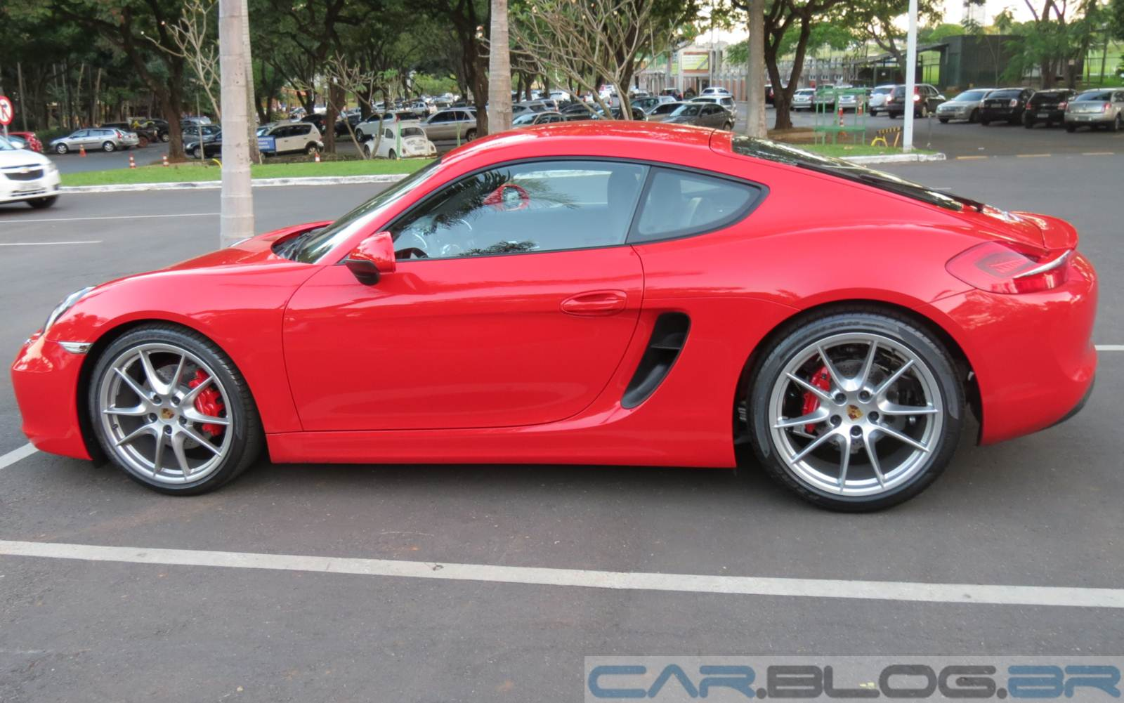 2015 Porsche Cayman Red