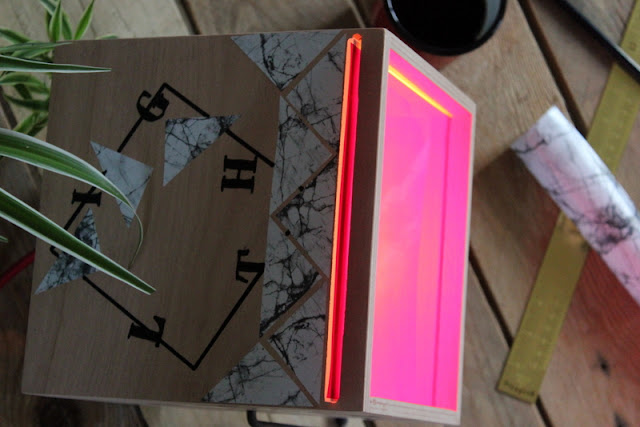 Diy / Lampe Leroy Merlin / Photos Atelier rue verte /