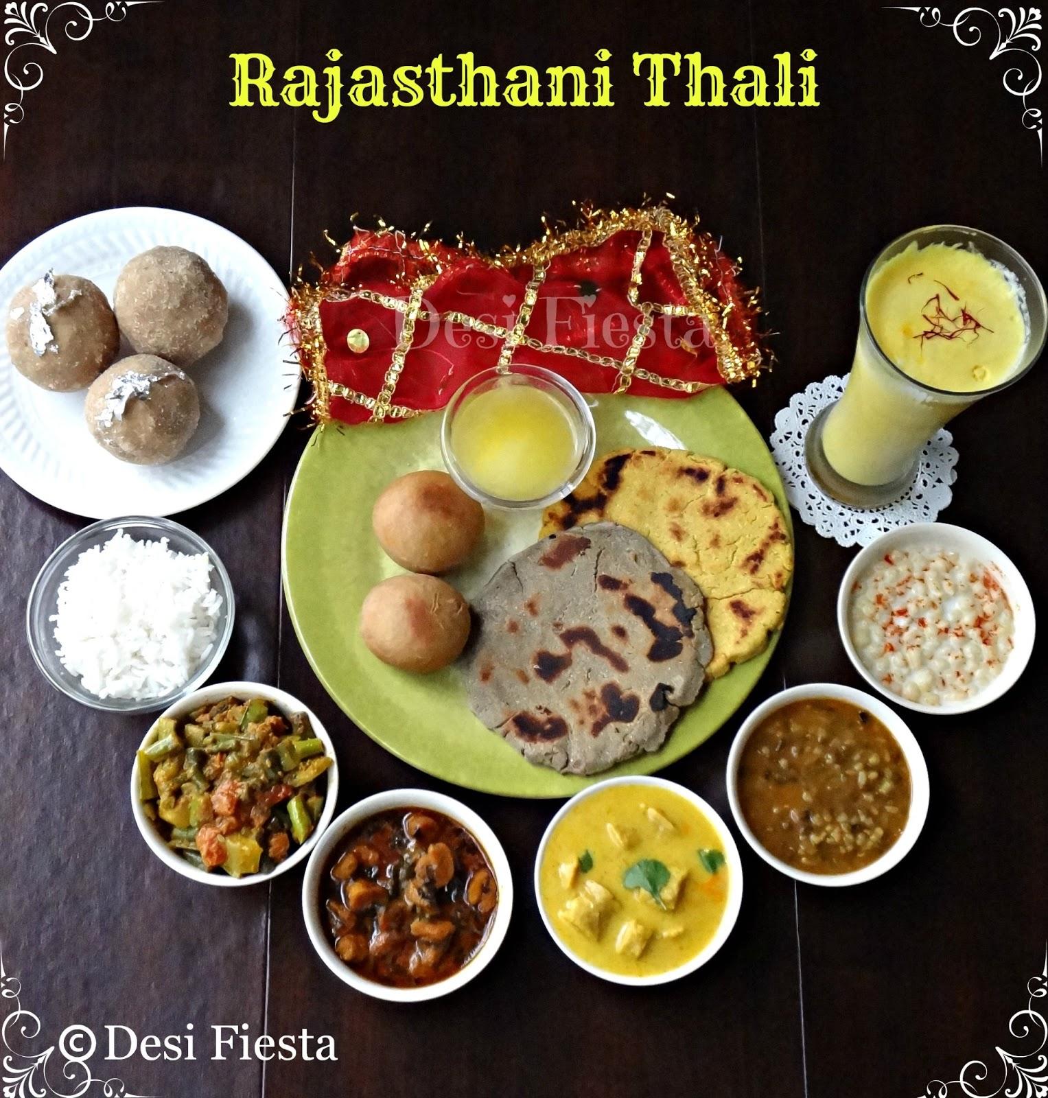 Rajasthani thali snc challange 10 desi fiesta rajasthani cusines rajasthani food forumfinder Choice Image