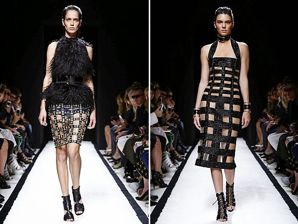 Scenes from the Balmain show