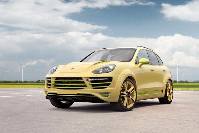 Русский тюнинг Porsche Cayenne