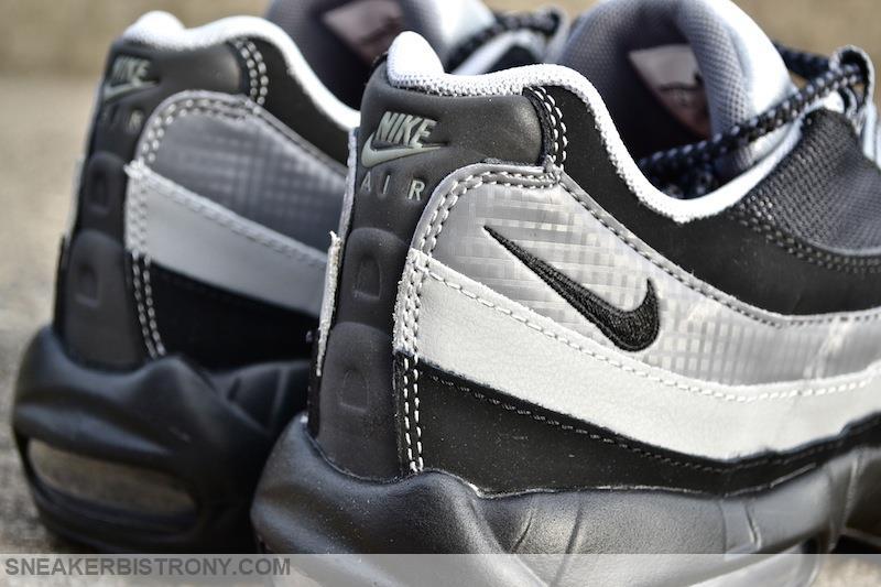 nike air max 95 essential black wolf grey