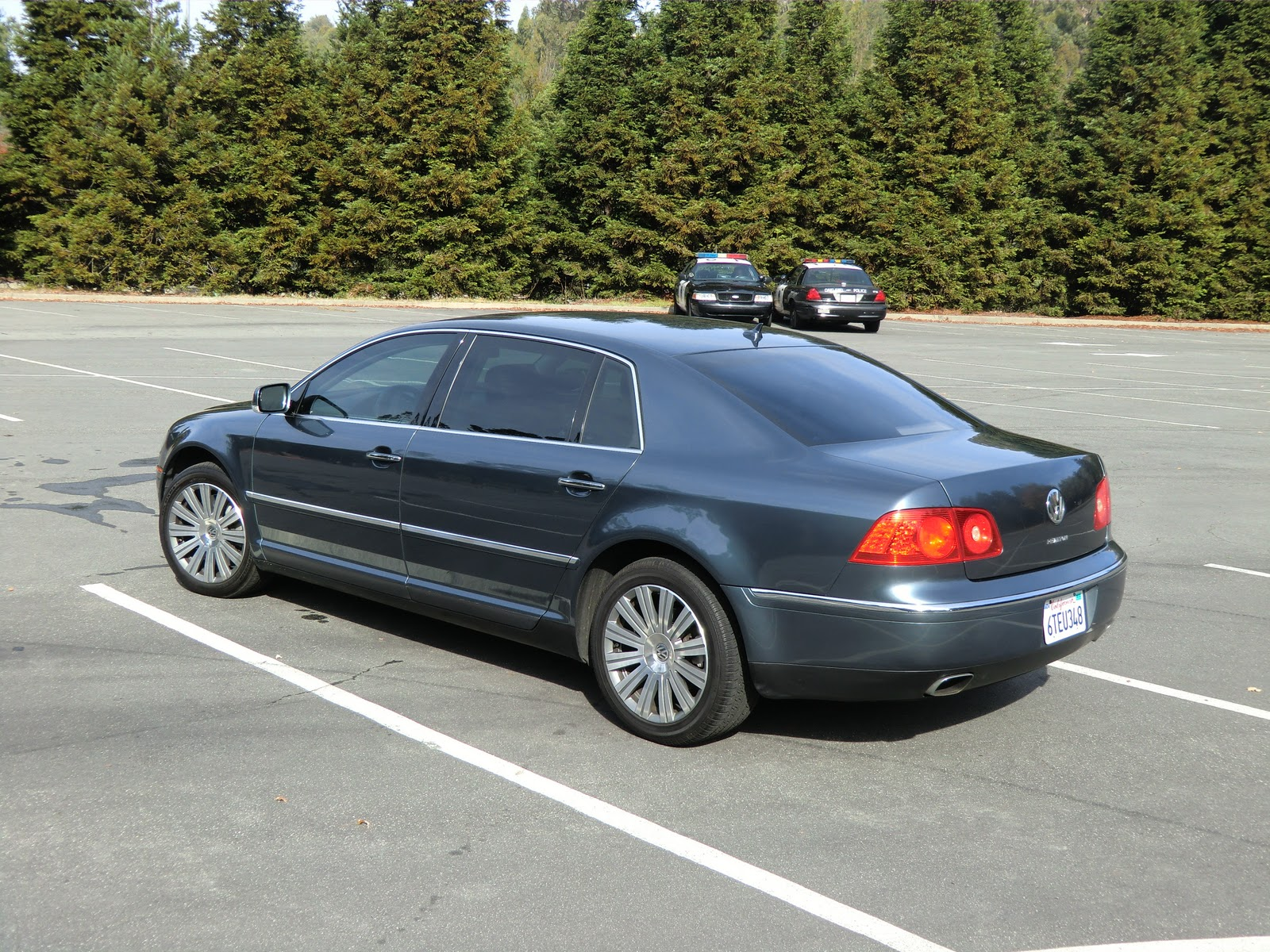 Vw phaeton v8 review impressions