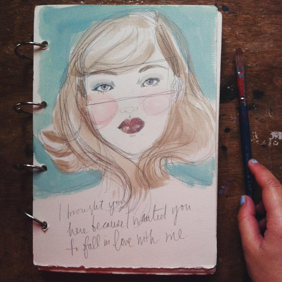 Kitty N. Wong / Sketchbook Girl pratice
