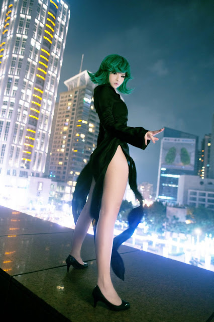 Cosplay Tatsumaki One Punch Man Misa Chiang images 05
