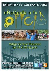 CAMPAMENTO SAN PABLO 2013