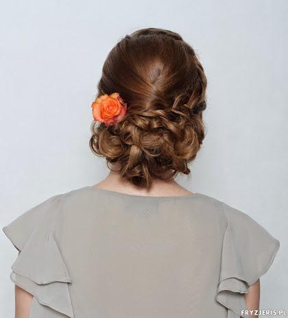 fryzura ślubna 11