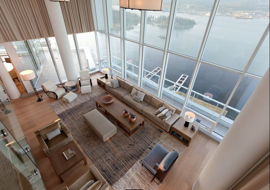 Fairmont Pacific Rim Penthouse Interior By Robert Bailey