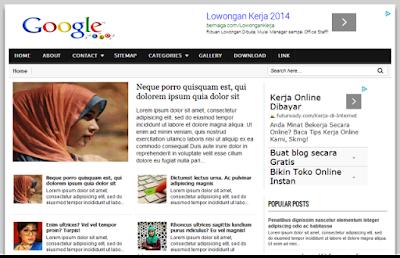google-seo-blogger-template-super-fast-loading