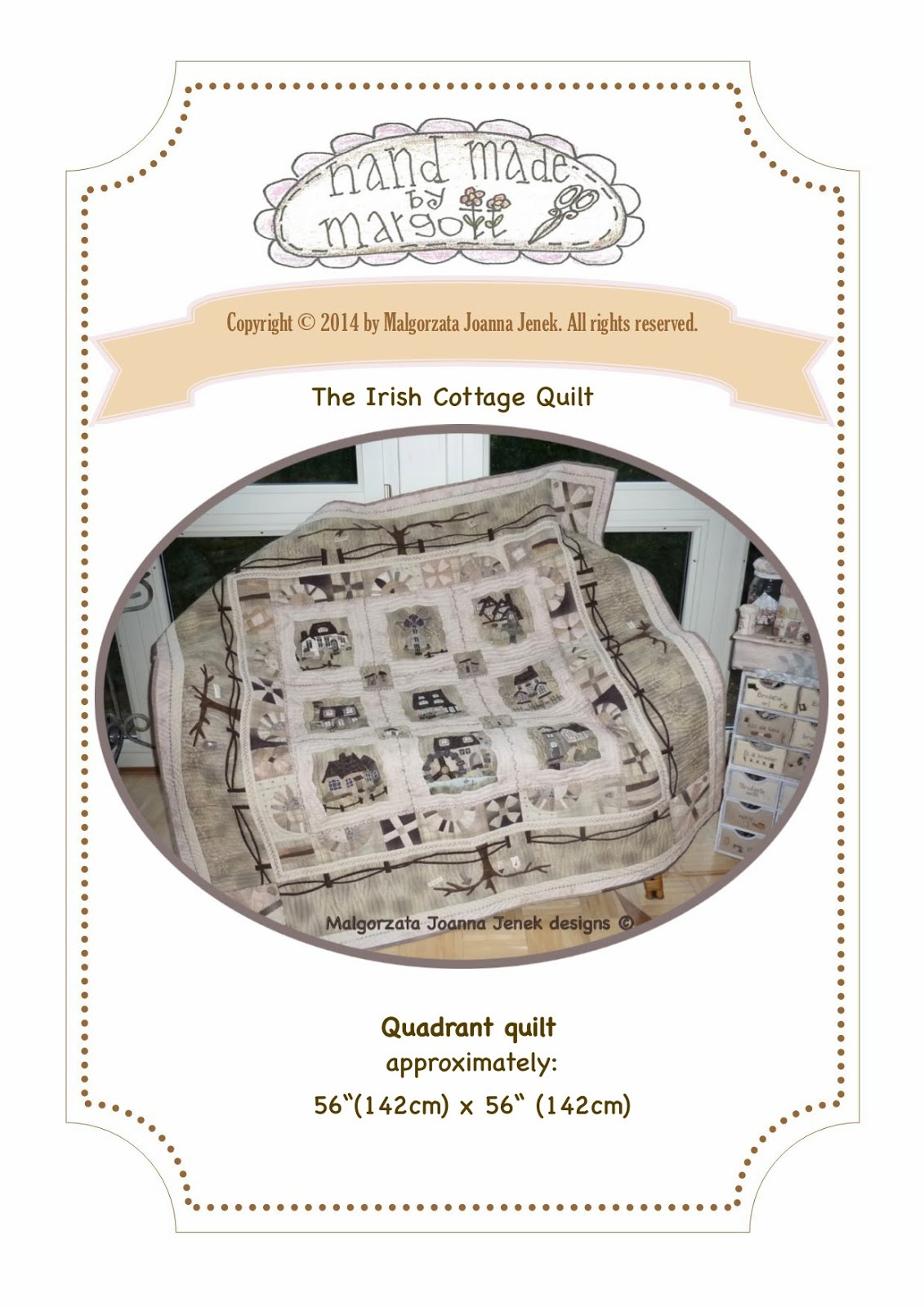 The Irish Cottage Quilt©