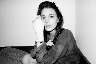 Lindsay Lohan crying