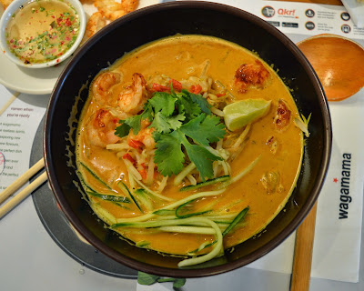 Prawn Kare Romen at Wagamama