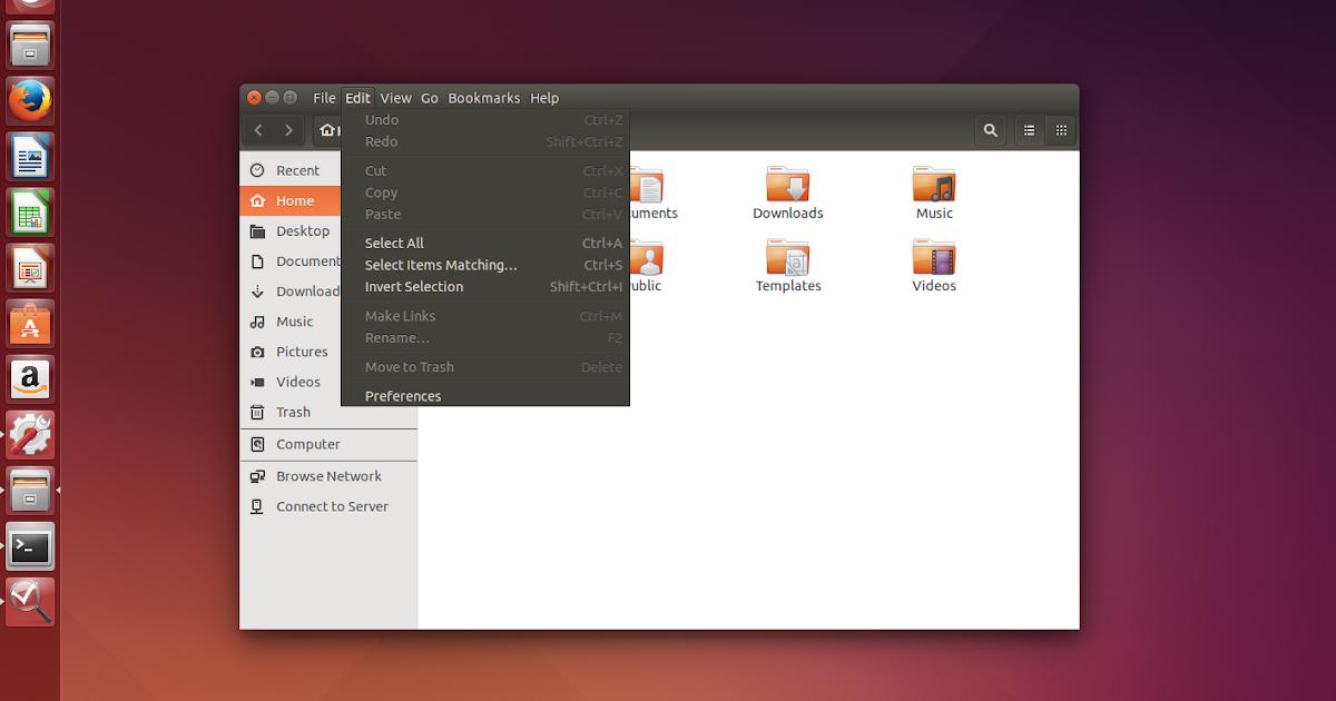 Locally Integrated Menus (LIM) Set As Default In Ubuntu 15.04 Vivid Vervet