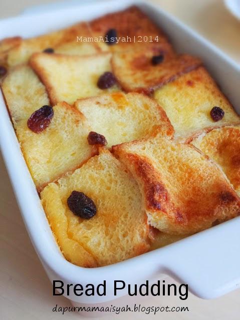 Bread Pudding (Puding Roti Tawar)