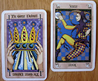 The Great Dalmuti and Jester cards
