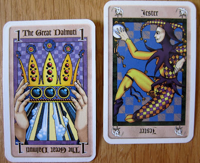 The Great Dalmuti - Some of the cards