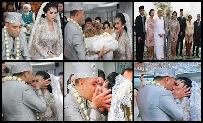 pernikahan kd raul,foto pernikahan krisdayanti raul lemos,video kd raul menikah