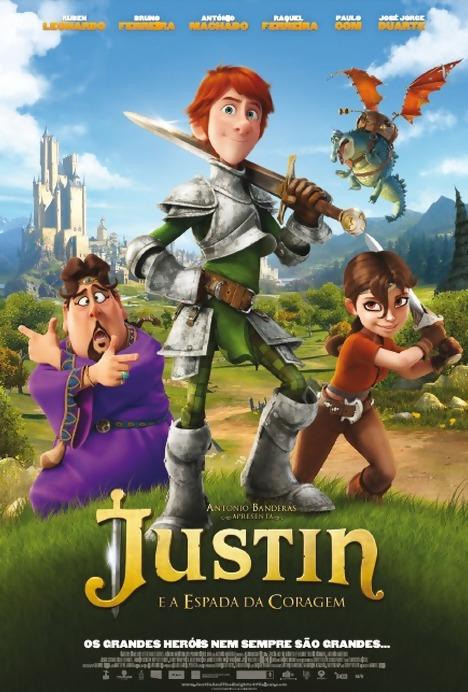 Filme Poster Justin e a Espada da Coragem R5 XviD Dual Audio & RMVB Dublado