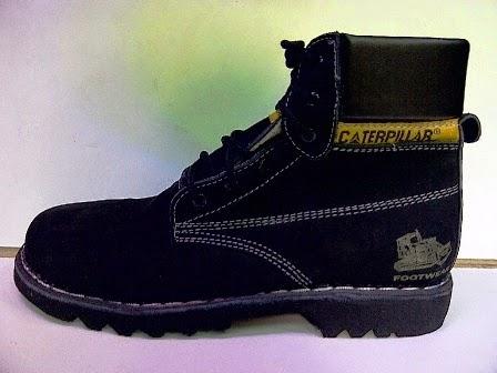 Caterpillar High Hitam,Sepatu Manggung,Sepatu Santai,Sepatu Jalan