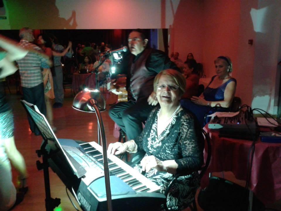Olga Contin y Hugo D'Ambrosio actuaron el 14 de Julio 2014