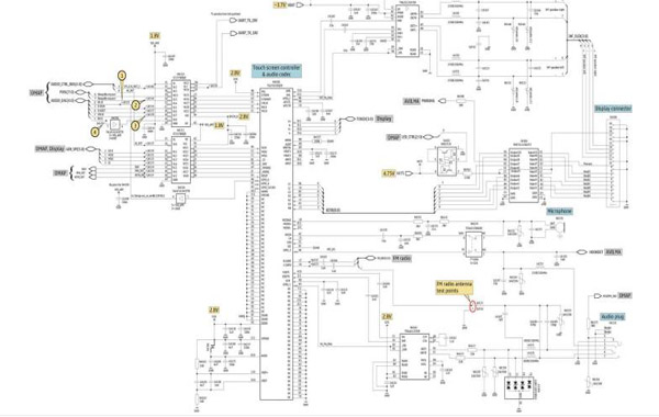 nokia n800 schematic diagram