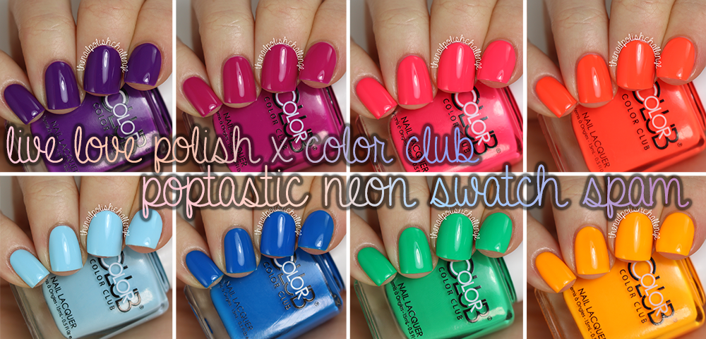 Polishes All Have a Neon