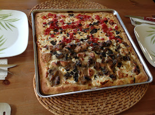 Yummy!  Chicken Marsala Grandma Pie