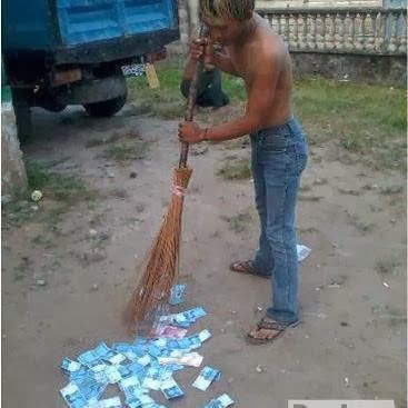 sampah duit