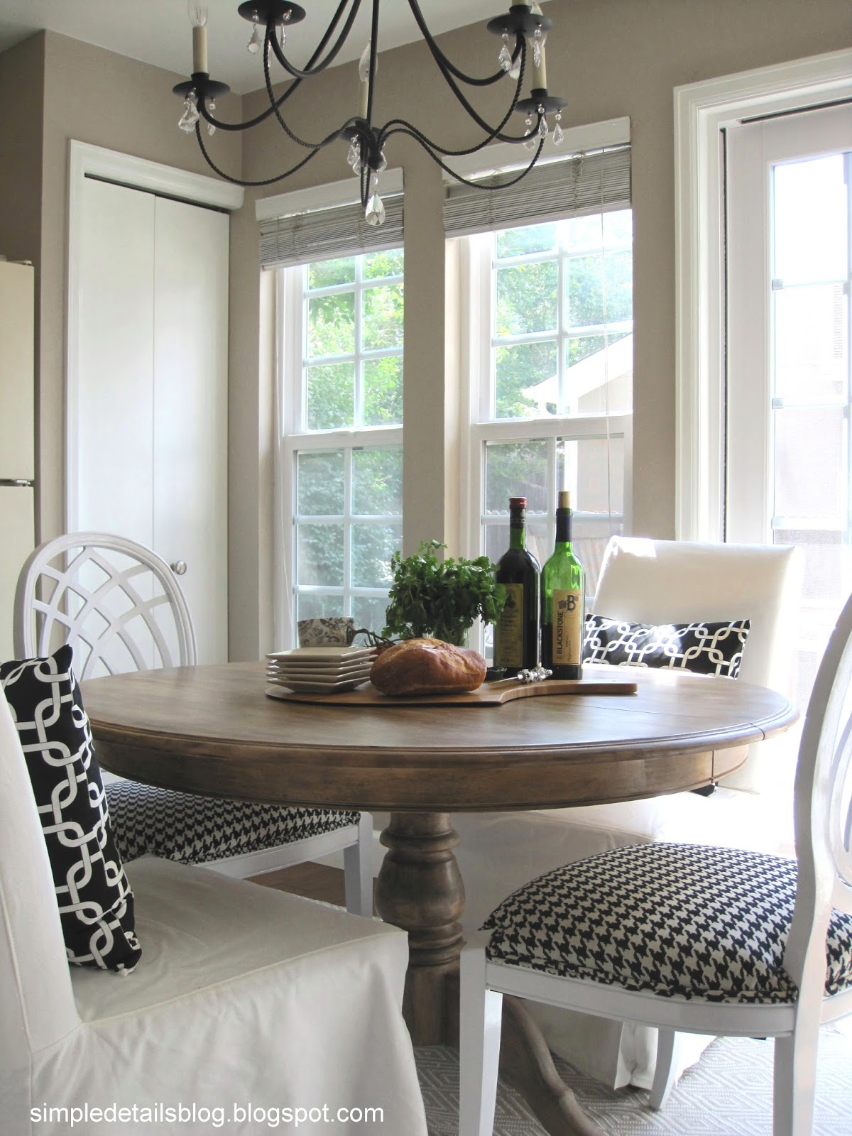 Diy dining table makeover - Simple Details Diy Arhaus Inspired Weathered Table