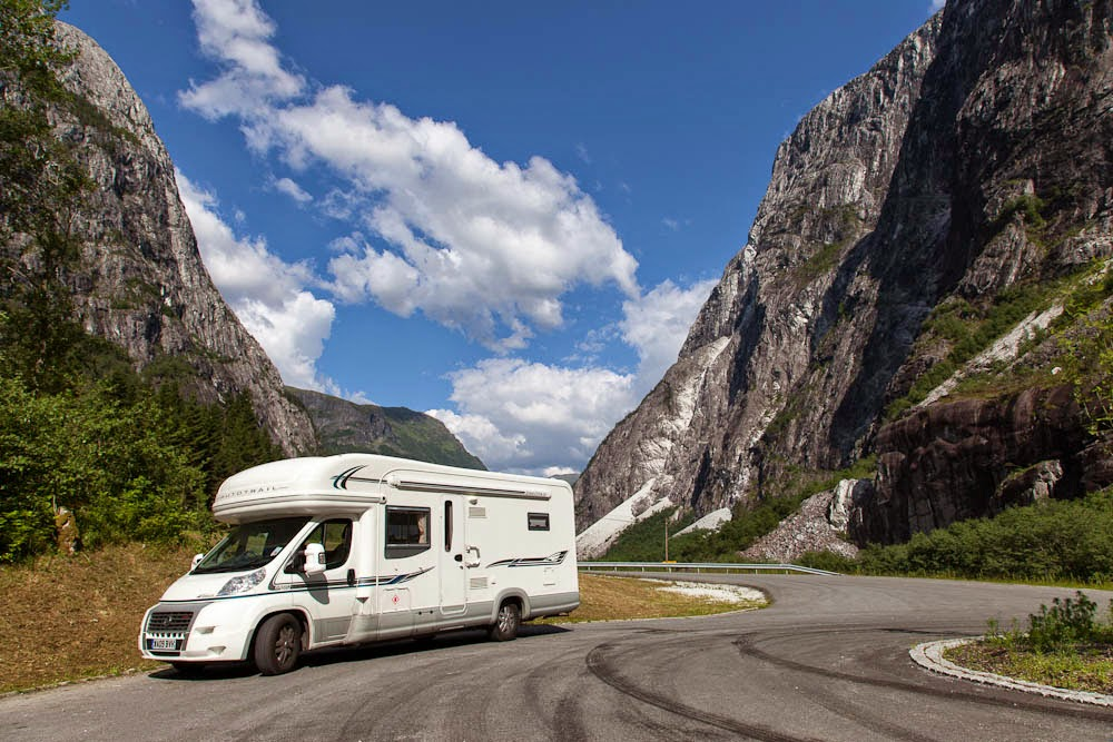 Campervan norway