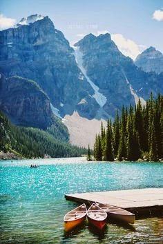 Lake Loiuse, Canada