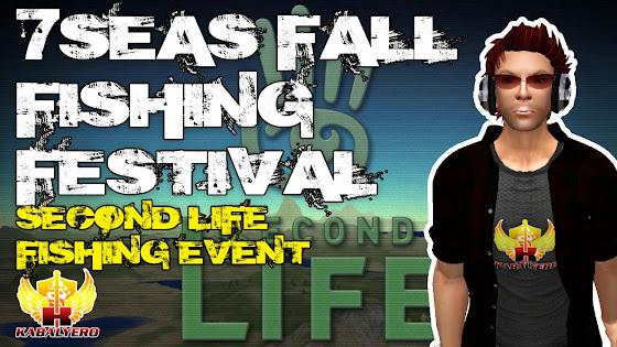 7Seas Fall Fishing Festival 2014, Second Life Fishing Event