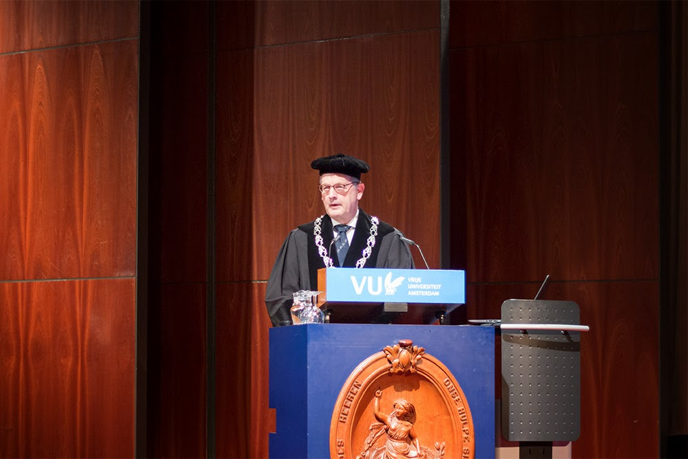 Rector Magnificus, Professor J.W. Winter