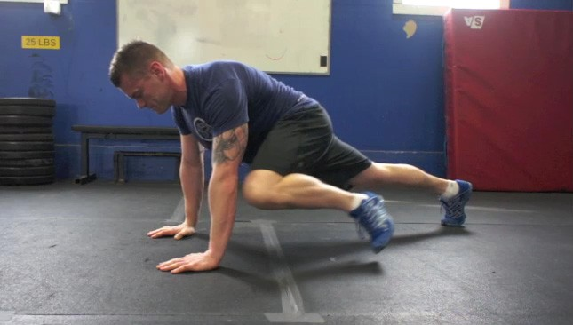 Image result for prone knee to outside same elbow