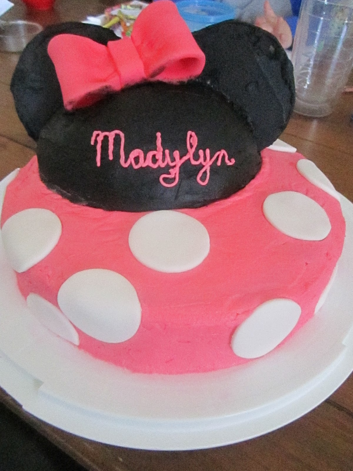 How To Decorate Wilton Minnie Mouse Cake