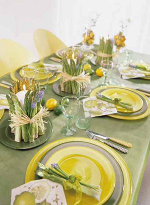 Table setting inspirations part ii ideas for decorating - Tavole apparecchiate per buffet ...