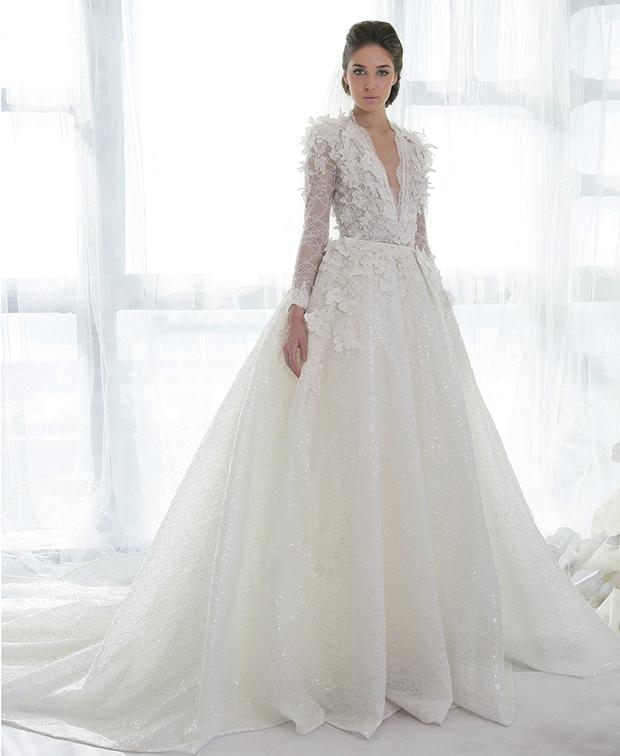 robe de mariage libanaise